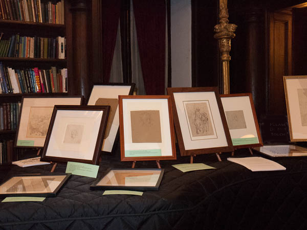 Drawings by Heinrich Schwemminger. Photo Joanna Gabler.