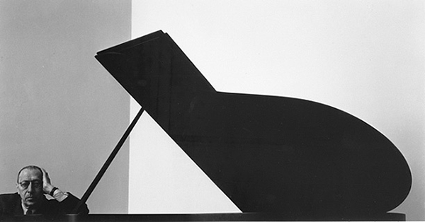 Arnold Newman, Igor Stravinsky, 1946