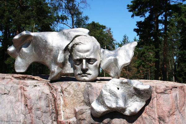 Eila Hiltunen's Sibelius Monument in Sibelius Park, Helsinki.