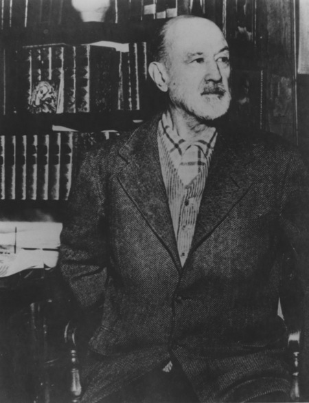 Charles Ives ca. 1947. Photo by Frank Gerratana.