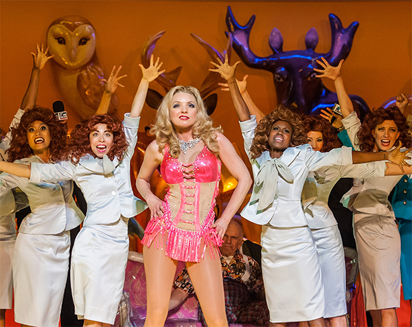 Sarah Joy Miller and Chorus in Anna Nicole. Photo Stephanie Berger.