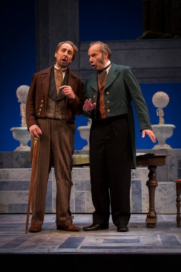 David Kravitz and James Maddalena in Verdi's Un giorno di regno.