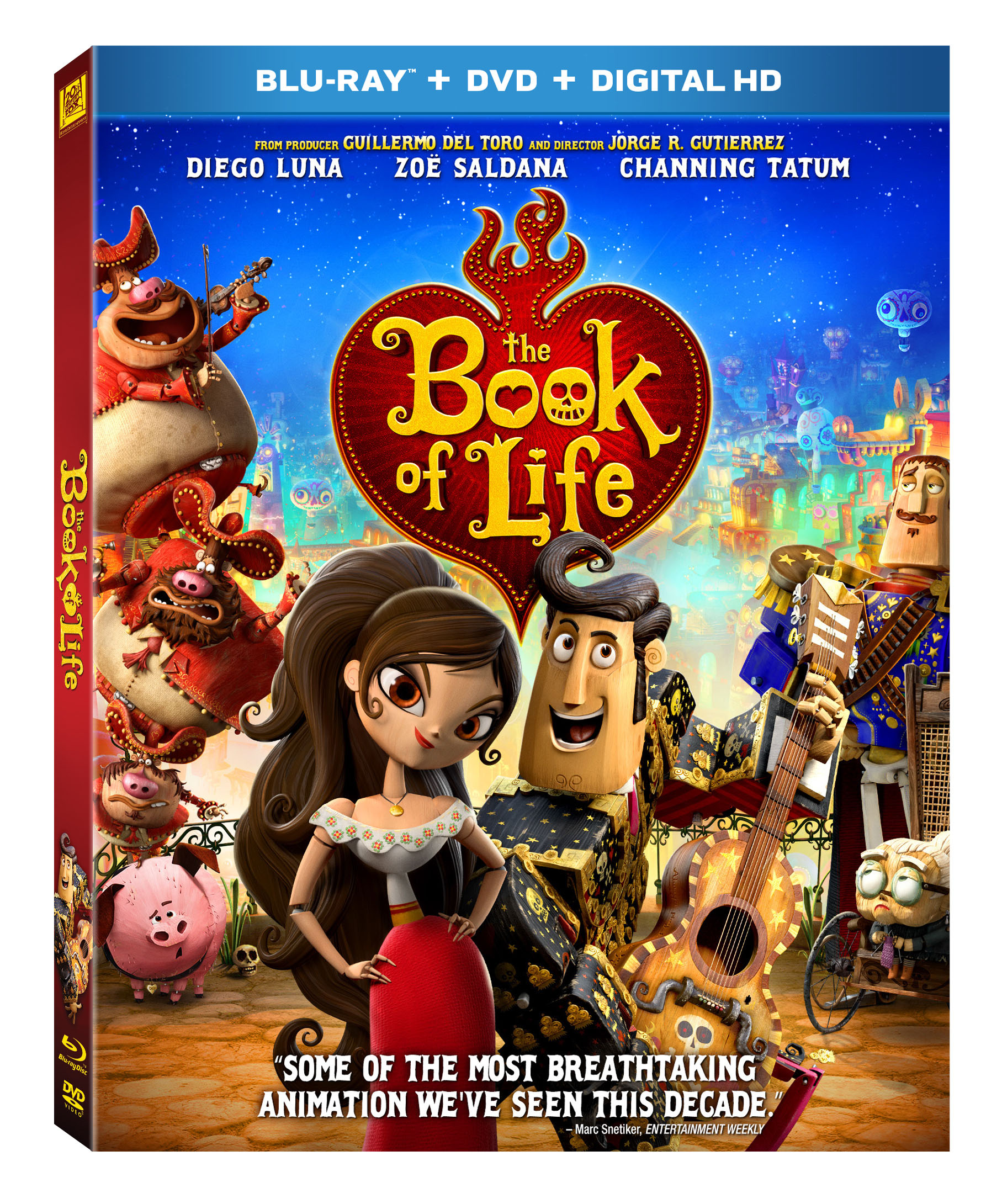 Libro De La Vida Giveaway The Book Of Life On Blu Ray And Dvd Bolinsiders