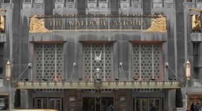 Slávny hotel Waldorf Astoria s plošticami?