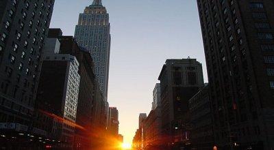 Manhattanhenge 2011: Už dnes