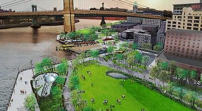 New York s novým parkom