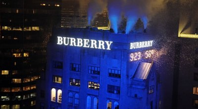 Burberry osvetľuje New York