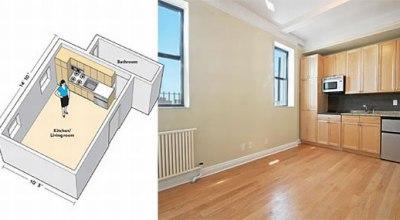 Najmenší apartmán v New Yorku?