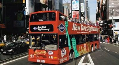 Turistické prehliadky New Yorku