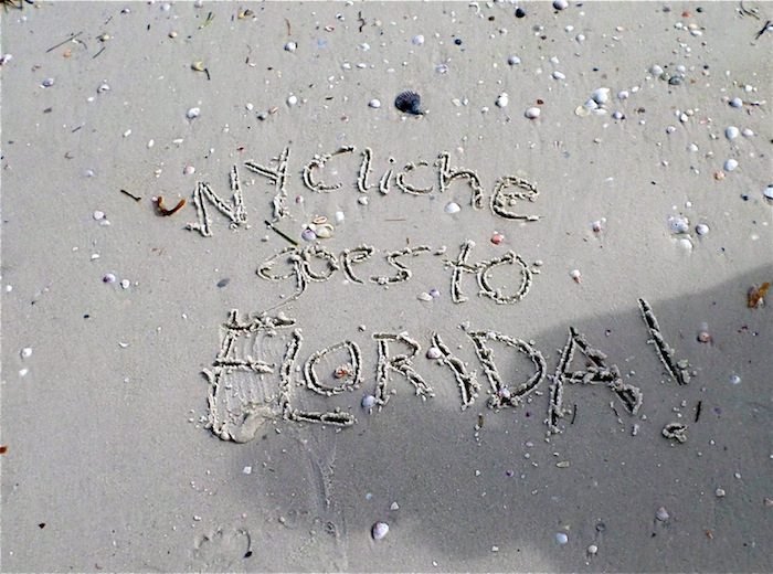 new york cliche goes to florida