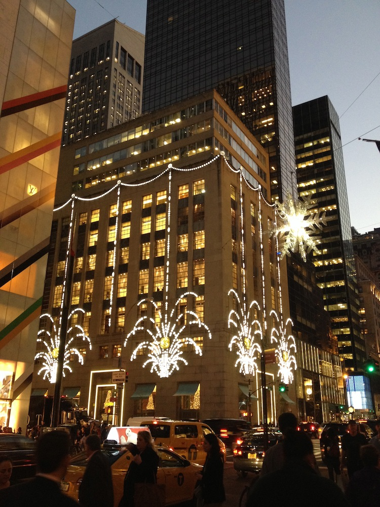 tiffanys NYC christmas