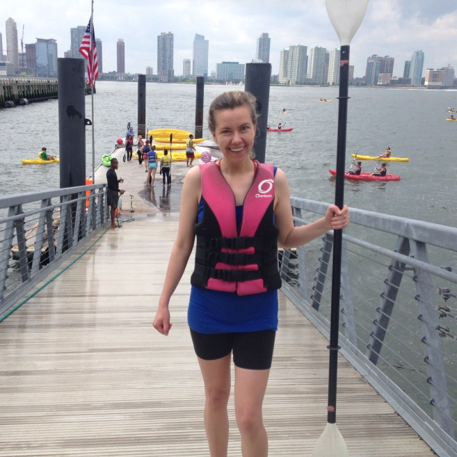 New York Cliche kayaking