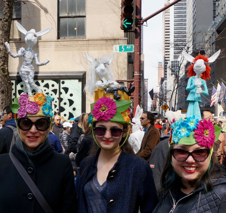 easter-bonnet-parade-nyc-trio