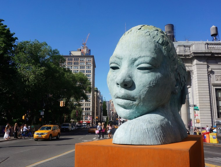 New York Cliche Union Square Sculpture