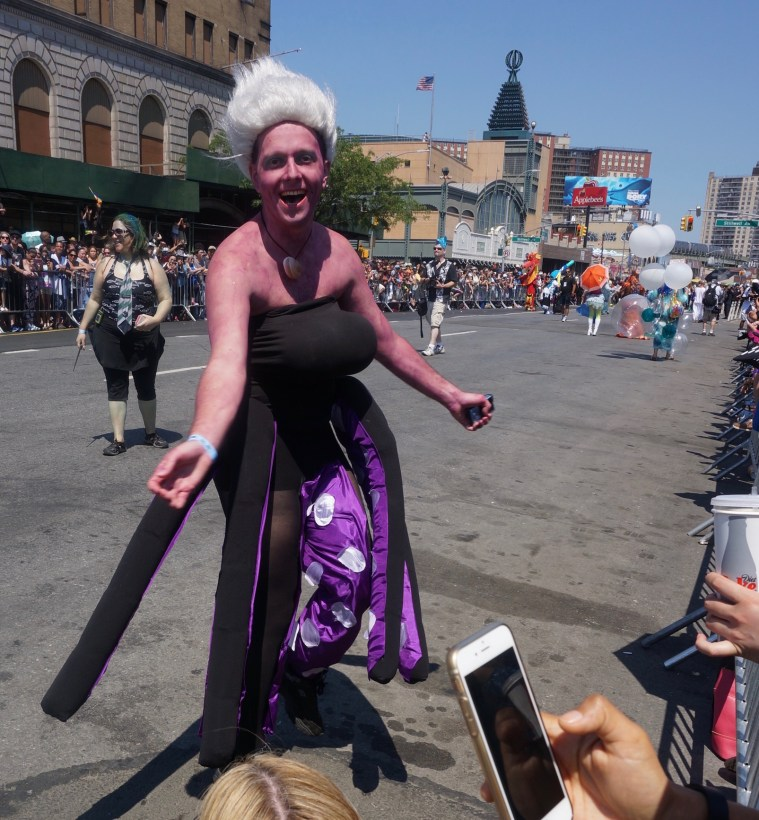 coney island mermaid parade ursula