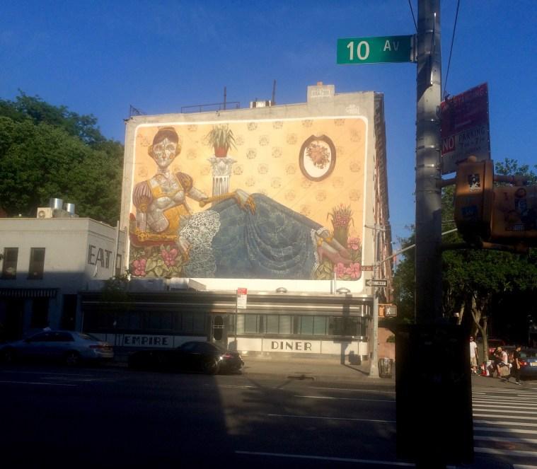 pixel pancho mural