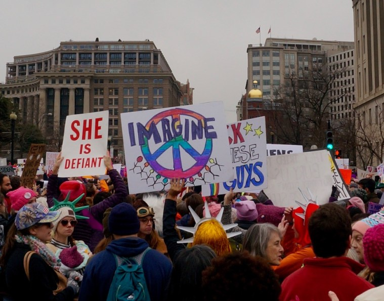 womens march washington dc sign