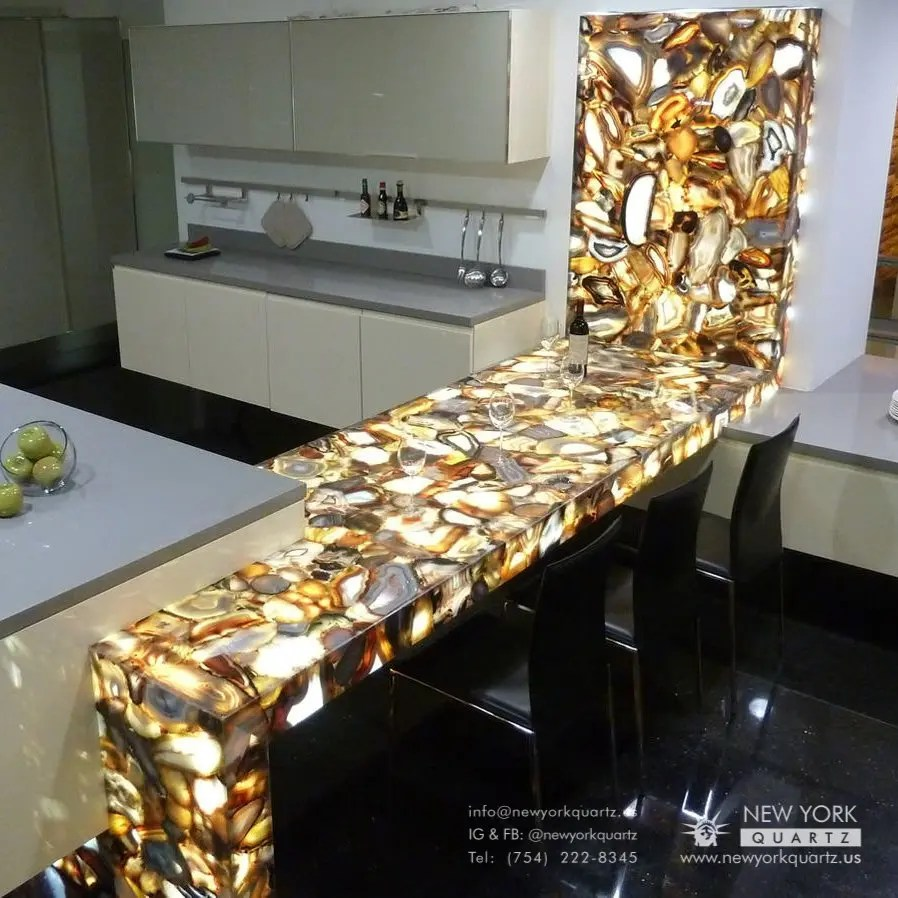 Waterfall Edge Countertops Top Kitchen Trends 2021