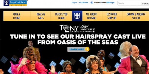 Royal Caribbean Cruises New York Theater