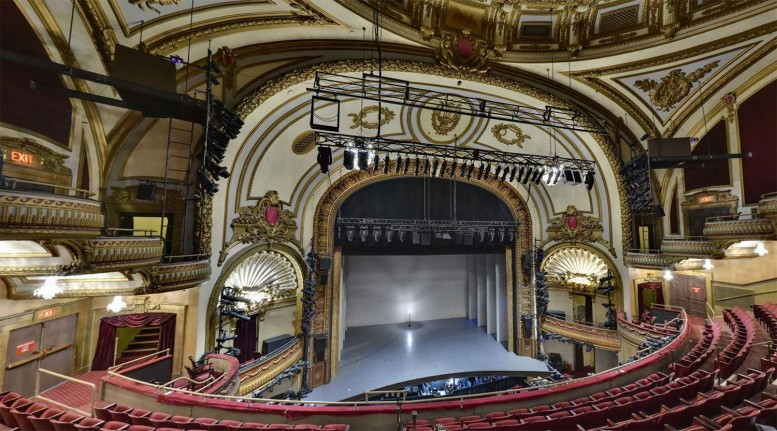 Palace Theater To Be Lifted 29 Feet For Expanded Facilities And