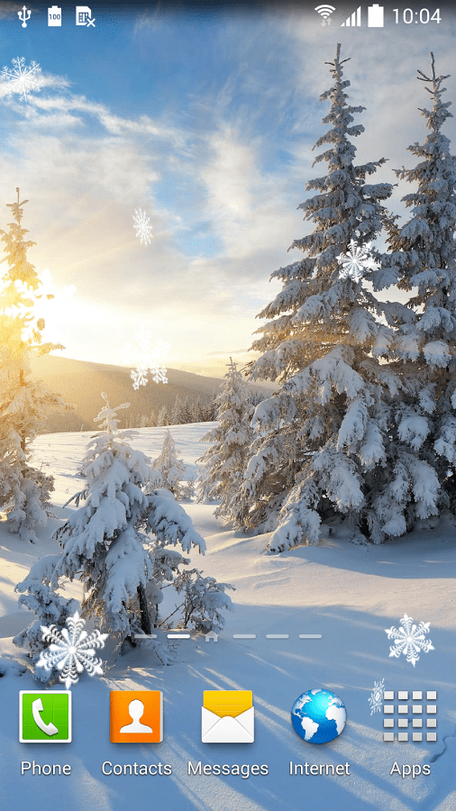 Falling Images Live Wallpaper Top 7 Beautiful Winter Snow Live Wallpapers For Android