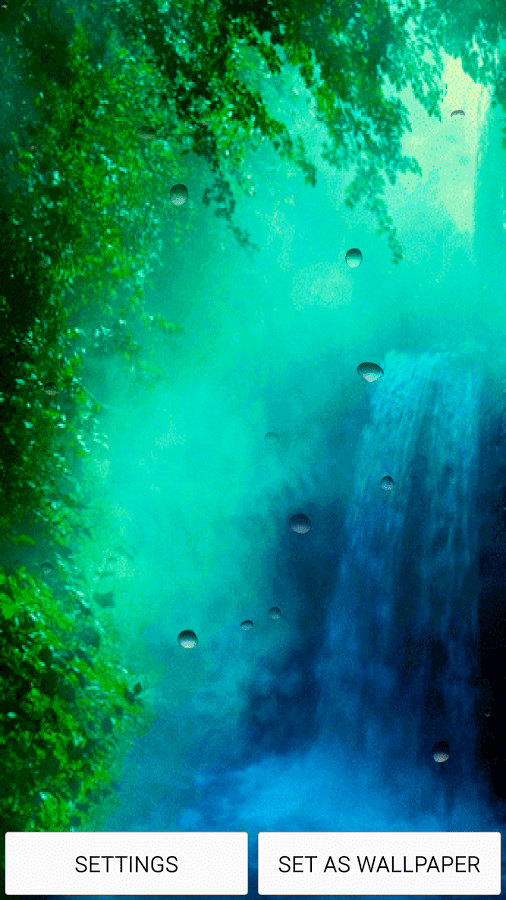 3d Wallpaper Widescreen Waterfalls Top 10 Waterfall Live Wallpapers Apps For Android