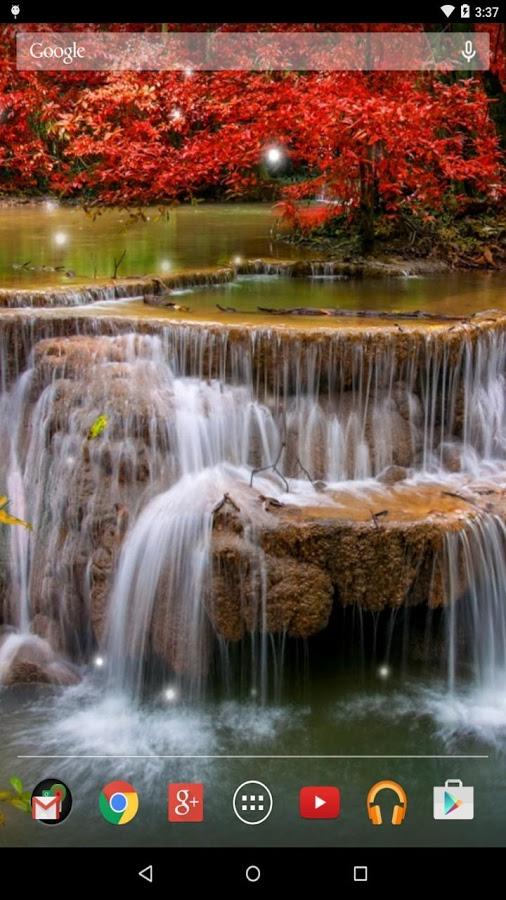 Falling Leaves Live Wallpaper For Android Top 10 Waterfall Live Wallpapers Apps For Android