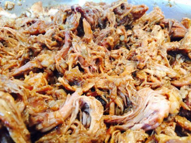 Resultat Pulled Pork Rezept