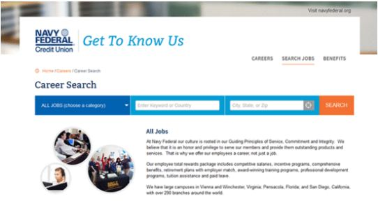 🤑Navy Federal Credit Union Job Application, Jobs  Careers Online