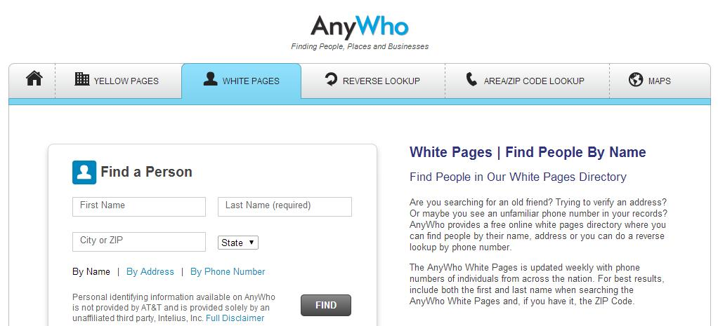 Want To Find Someone, Check Anywho - NextBigProductnet - address phone number lookup
