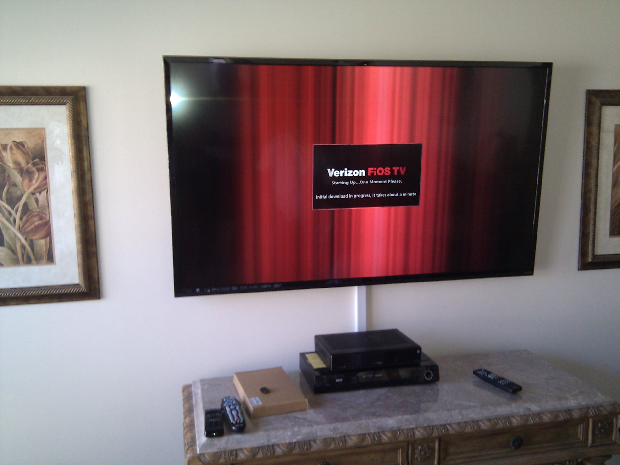 Flat Screen Tv Setup Ideas Tv Installation With Soundbar Nextdaytechs On Site