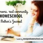 Homeschool Mother's Journal: March 19, 2016