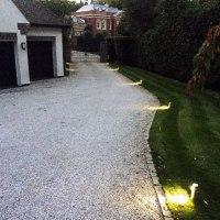 Top 40 Best Driveway Lighting Ideas - Landscaping Designs
