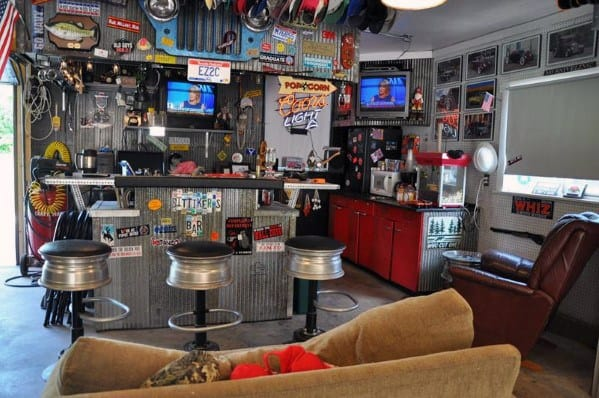 Best Man Caves 50 Awesome Man Caves For Men - Masculine Interior Design Ideas