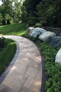 Top 60 Best Concrete Walkway Ideas - Outdoor Path Designs
