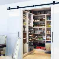 Top 40 Best Kitchen Pantry Door Ideas - Storage Closet Designs