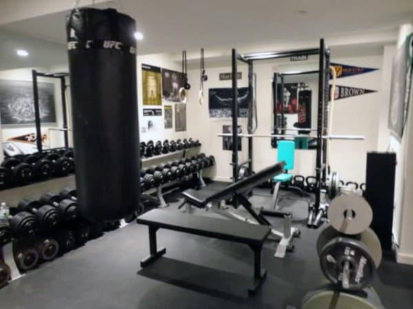 √ personal home gym design ideas for men