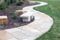 Top 40 Best Flagstone Walkway Ideas - Hardscape Path Designs