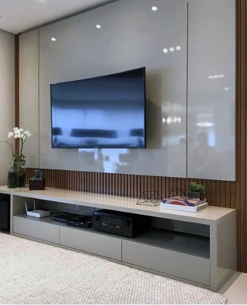Muebles Para Tv Led 40 Top 70 Best Tv Wall Ideas - Living Room Television Designs