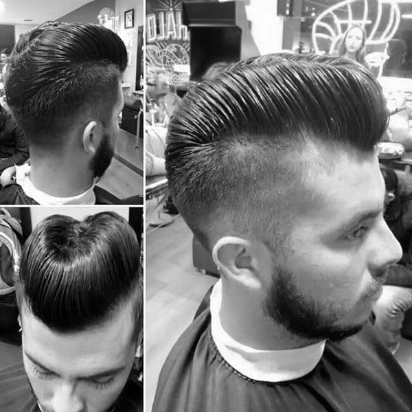 Haircuts For Guys Over 60 Ducktail Haircut For Men 30 Ducks Arse Hairstyles