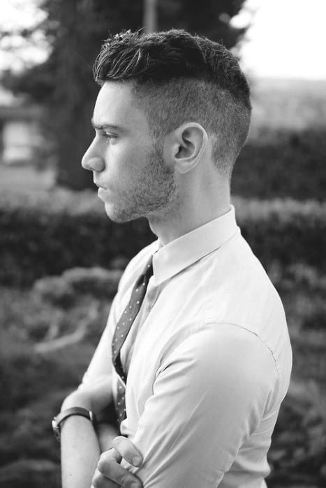 Hairstyles For Short Hair Over 70 Top 50 Best Short Haircuts For Men Frame Your Jawline
