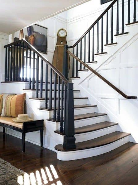 Treppen Innenraum Top 60 Best Stair Trim Ideas - Staircase Molding Designs