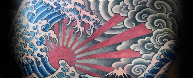 60 Japanese Wave Tattoo Designs For Men - Oceanic Ink Ideas