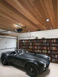 50 Garage Lighting Ideas For Men - Cool Ceiling Fixture ...