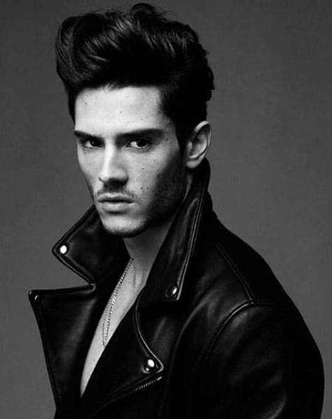Haircuts For Guys Over 60 Greaser Hair For Men 40 Rebellious Rockabilly Hairstyles