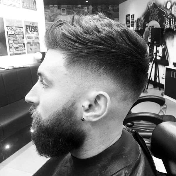 Haircuts For Guys Over 60 Skin Fade Haircut For Men 75 Sharp Masculine Styles