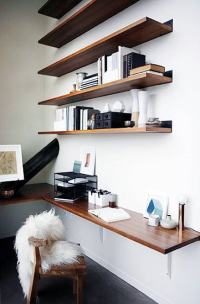 75 Small Home Office Ideas For Men - Masculine Interior ...