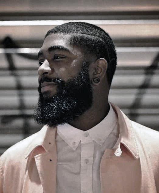60 Beard Styles For Black Men - Masculine Facial Hair Ideas