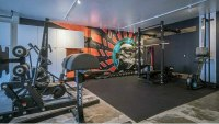 Top 75 Best Garage Gym Ideas - Home Fitness Center Designs