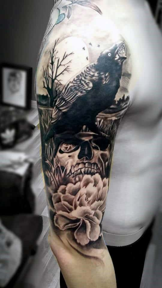 Tattoos Für Den Arm Top 50 Best Arm Tattoos For Men - Bicep Designs And Ideas